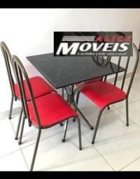 Conjunto Mesa 4 Cadeiras Bianca