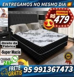 Título do anúncio: Cama Casal Bem Macia Nova Zerada Promoção frete grátis