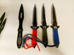 Conjuntos de facas de arremesso - 6 facas