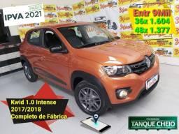 Renault Kwid 1.0 Flex Intense 2018 Completo