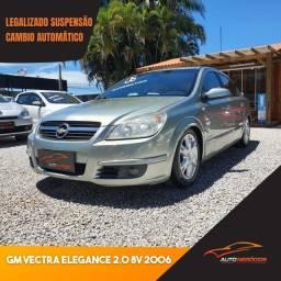 Título do anúncio: Gm Vectra Elegance 2.0 8V 2006, Legalizado, Automático