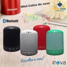Caixa de Som Bluetooth | Com suporte Celular