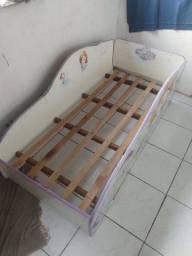 Doa cama + colchão infantil