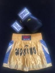 Luva de Boxer com shorts