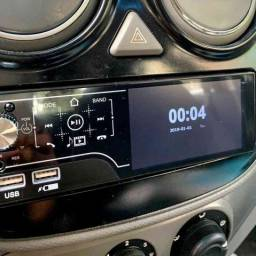 Rádio Automotivo MP5 Bluetooth Touch Screen e Comandos de Volante ??: