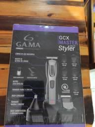 Título do anúncio: Máquina de cortar barba e cabelo gama Master style
