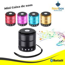 Mini Caixa de Som Bluetooth | Pen Drive - Cartão Sd - Radio FM