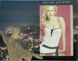 Título do anúncio: Porta Retrato Paisagem Rio de Janeiro Vidro ( Preço Atacado)