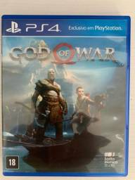 God Of War - Ps4-Só venda.