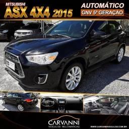 Mitsubishi ASX 4X4 2015 Automático com GNV 5ª Geração