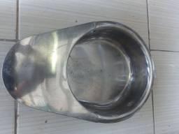 Aparador xixi usado inox. Leia a  abaixo