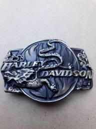 Fivela para cinto Harley Davidson - raridade!