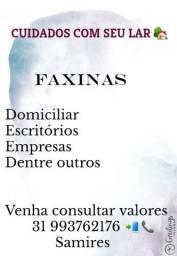 Título do anúncio: Faxinas em geral
