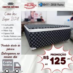 Título do anúncio: Cama Casal Espuma D38 Nova de Fábrica com Frete grátis
