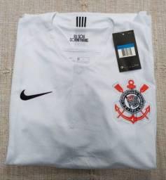 Título do anúncio: Camisa Corinthians Nike Temp 2018 Tai 1.1