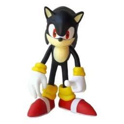 Boneco Sonic Grande Super Size - 23cm Preto- Rf Informatic