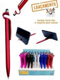 Caneta Touch Pen Com Suporte Para Celular