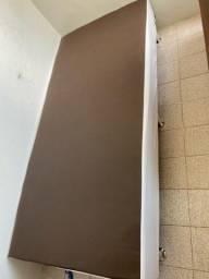 Base de cama box solteiro ortobom semi nova