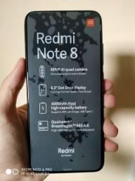 Xiaomi redmi note 8 seminovo aceito trocas com volta