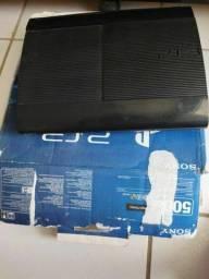 Vendo PS3 com acessórios