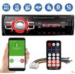 Som automotivo átomo com Bluetooth