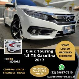 CIVIC 2017/2017 1.5 16V TURBO GASOLINA TOURING 4P CVT