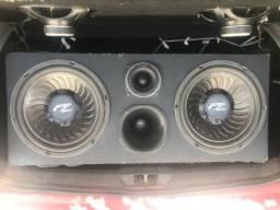 Caixa de som + potência