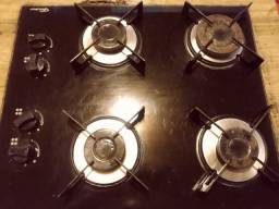 Fogãoo cooktop BOCAS ENTUPIDAS