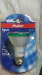 Lampada par 20 avant 6 w verde
