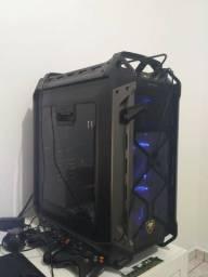 PC Gamer R5 2600x, 16gb, H100i V2, 3tb, 3x ssd's 240gb raid0, gtx 1060 6gb.