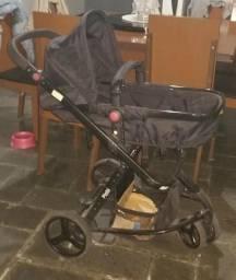 Carrinho de bebê + Bebê conforto Travel System Mobi