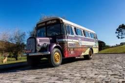 Ônibus Mercedes Benz Relíquia 1957 Pronto Para Turismo