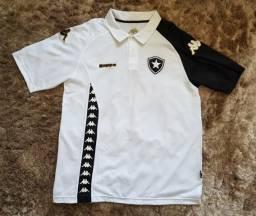 Camisa Botafogo Kappa comissão técnica branca G original 85c088159bec3