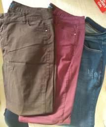 Calças jeans 48
