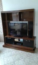 Estante para sala com espaço para TV em MDP