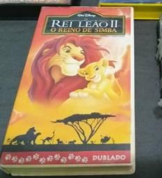 Filme do Rei Leão em VHS