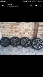 Rodas 18 KIA SORENTO originais com pneus