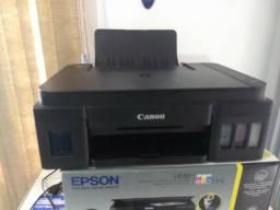 Canon g3100 com bulk Ink