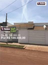 Casa com 3 dormitórios à venda, 84 m² por r$ 189.000,00 - plano diretor norte - palmas/to
