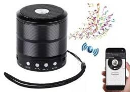 Caixa De Som Bluetooth Ws 887 Speaker, usb