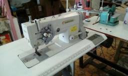 Máquina de Costura Pespontadeira Industrial Agulhas Alternadas