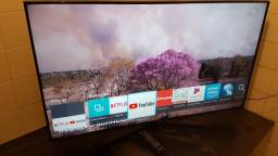 Vendo Smart Tv 50 4k Samsung Impecável Ultra Fina