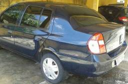 Clio sedan authentic 1.0 - 2007 (oportunidade)