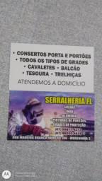 Serralheria FL especializada em solda alumínio e inox e outras