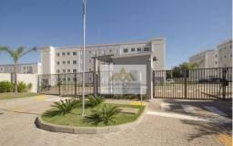 Apartamento com 2 dormitórios para alugar, 46 m² por R$ 850/mês - Jardim Ângelo Jurca - Ri