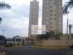 Apartamento com 2 dormitórios à venda, 46 m² por R$ 246.000 - Lagoinha - Ribeirão Preto/SP