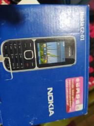 Celular Samsung J2 e Nokia C2 para retirar peças