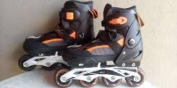 Vende patins semi-novo serve do 34 ao 37