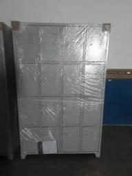 Roupeiros em aço várias portas tipo locker pronta entrega