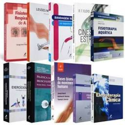Box livros fisioterapia